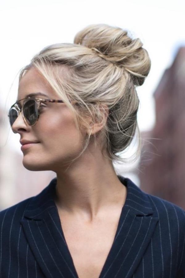 4 haarstijlen die je redden als je geen tijd hebt om je haar te wassen