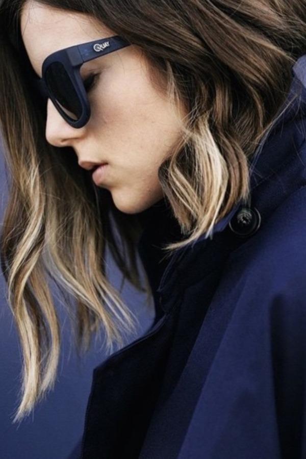Het verschil tussen dip-dye en ombre hair