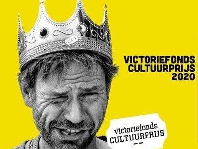 Uitreiking Victoriefonds Cultuurprijs Letteren 2020