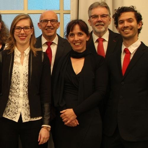 Kerstconcert door vocaal ensemble Bamestra Nova