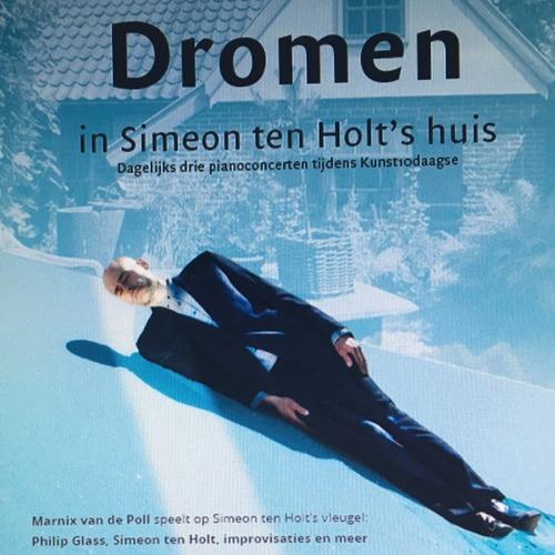 Kunst10daagse Bergen: pianist Marnix van de Poll geeft solo-concerten in huisje Simeon ten Holt op Ten Holt's vleugel