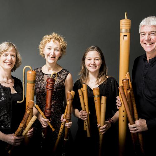Recorder Quartet Amsterdam 'Brisk' en stersopraan Amaryllis Dieltiens