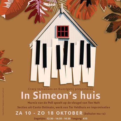'In Simeon's Huis' - Concerten in het huisje van Simeon Ten Holt
